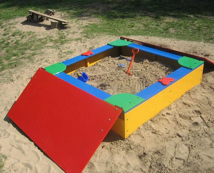 Крышки на песочницы
